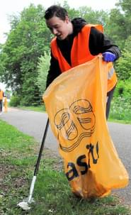 Asito cleanup day heracles bryan hessing zwerfvuil opruimen